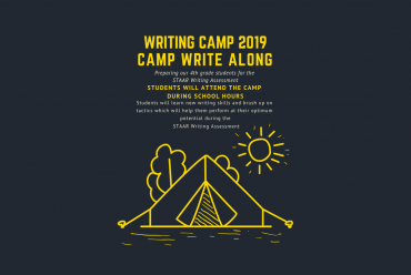 Writing Camp 2019